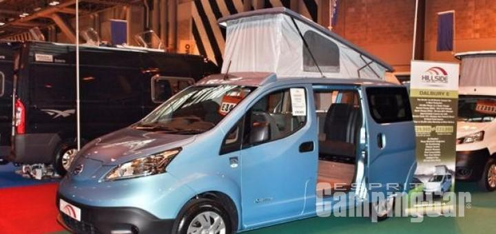 dalburye le premier camping car lectrique sur la base du nissan e nv200 esprit camping car. Black Bedroom Furniture Sets. Home Design Ideas
